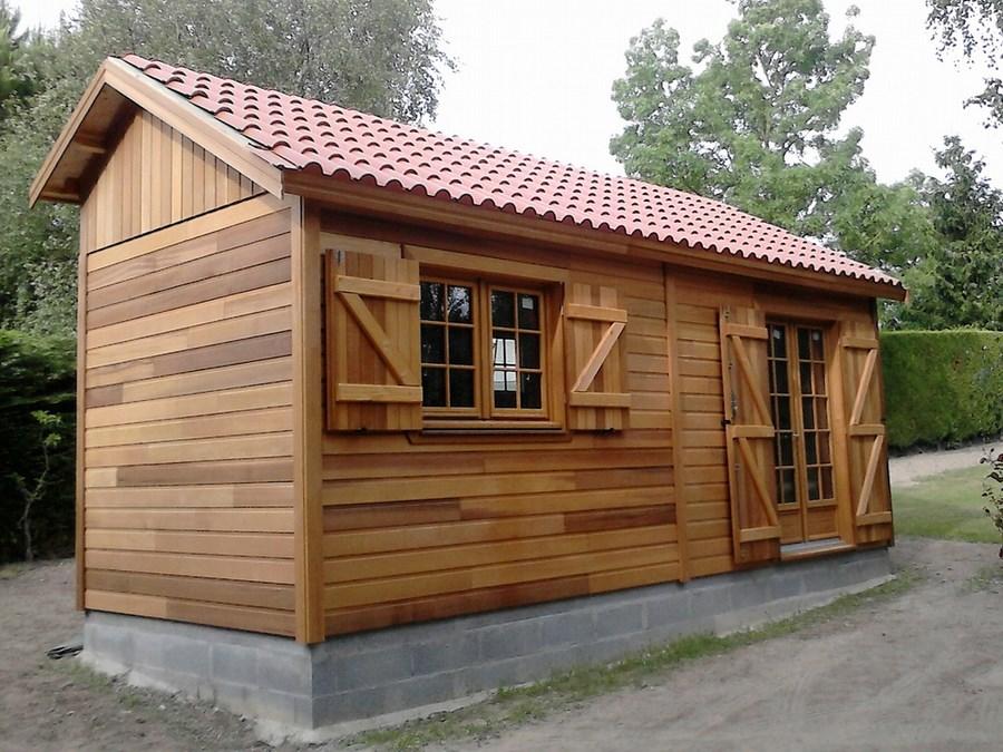 Habitation l g re de loisir en ossature bois environnement bois - Maison legere d habitation ...