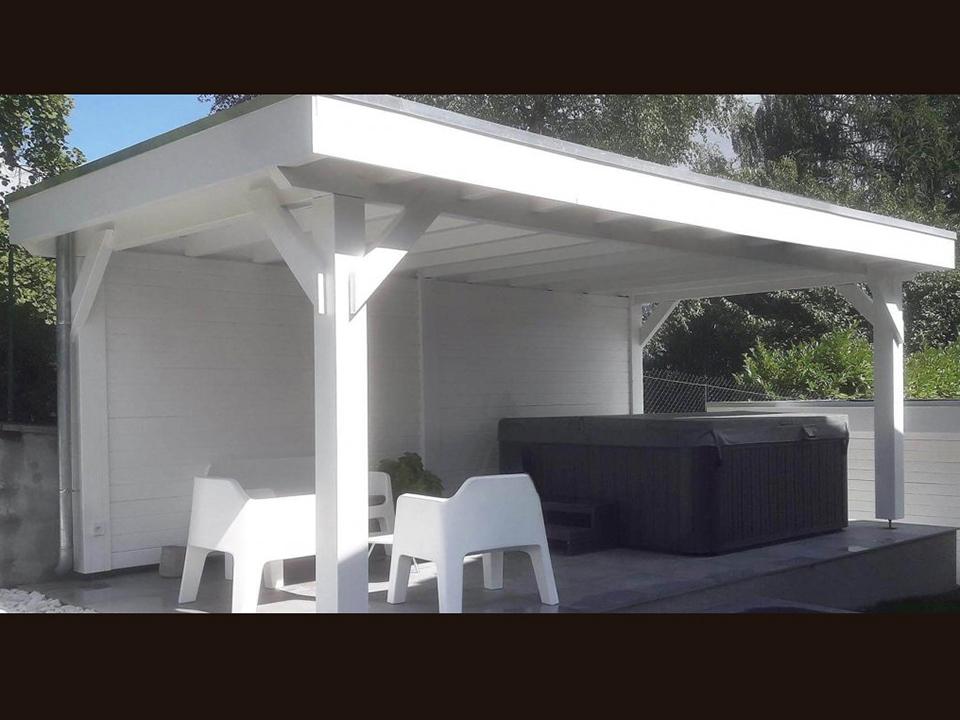 Image 1 - Auvent de terrasse sur mesure