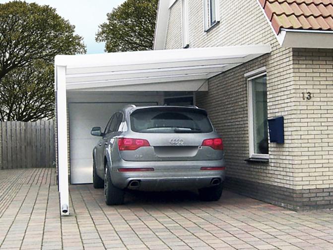 Image 11 - Carport Aluminium Adossé - 4.00 x 5.00 m