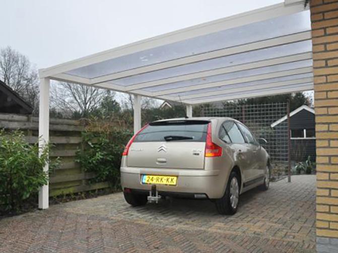 Image 12 - Carport Aluminium Adossé - 4.50 x 5.00 m