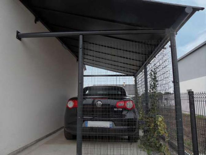 Image 3 - Carport GRAFIT Sur mesure - 3.00 x 7.00 m