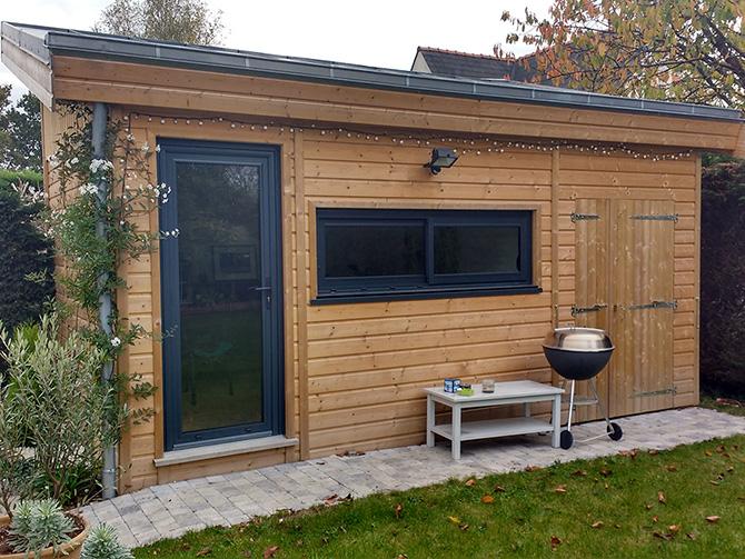 Abris de jardin sur mesure environnement bois for Construction en bois sur mesure