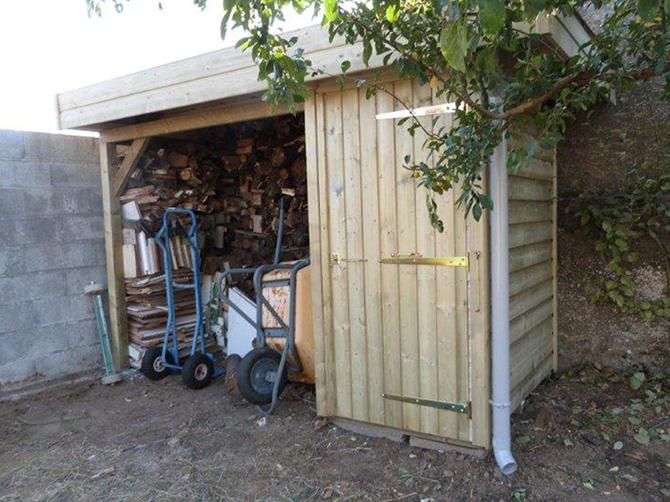 Image 6 - Construction sur mesure - Local Technique + Abri Bois - 2.05 x 1.30 m - Bardage Autoclave