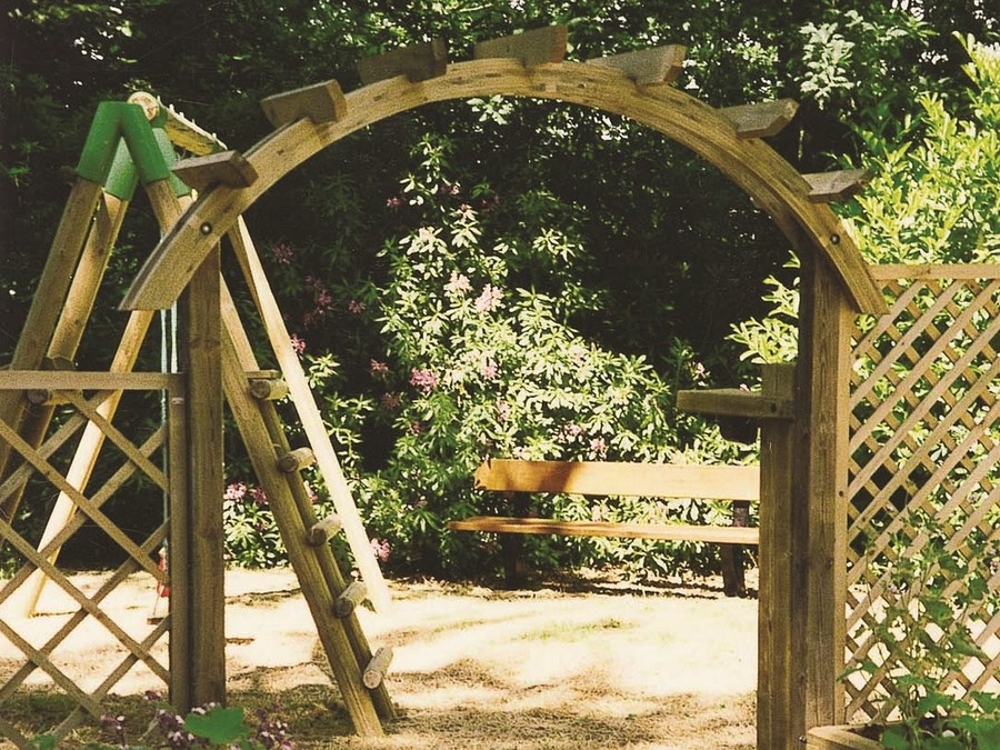 Image 35 - Pergola en bois