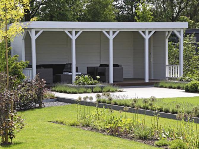 Image 16 - Préau indépendant toit plat